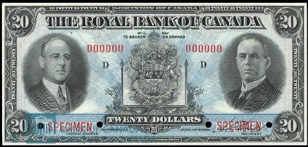 royal canada 1933 20