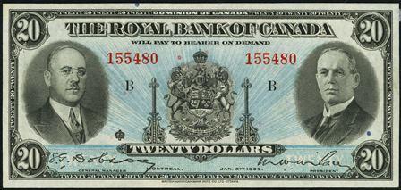 royal canada 1935 20
