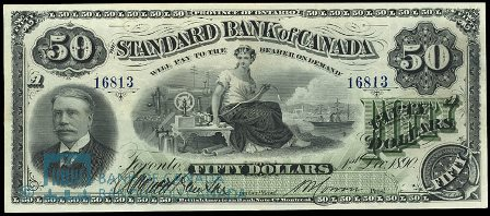 standard bank 1890 50