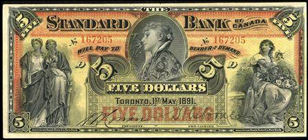 standard bank 1891 5