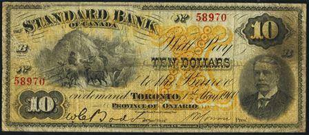 standard bank 1900 10