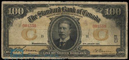 standard bank 1914 100