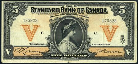 standard bank 1914 5