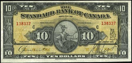standard bank 1924 10