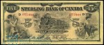 Value of Old Banknotes from The Sterling Bank of Canada in Toronto
