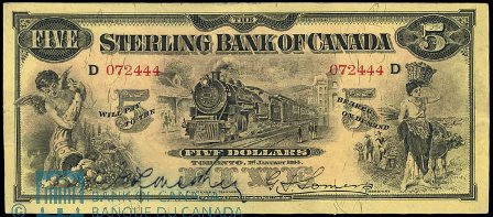 sterling bank 1914 5