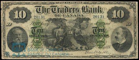 traders bank 1897 10