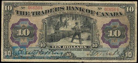 traders bank 1909 10