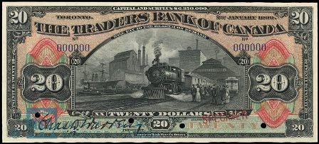 traders bank 1909 20