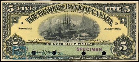 traders bank 1909 5