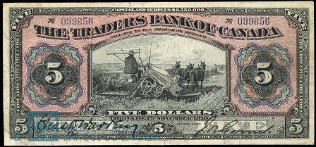 traders bank 1910 5