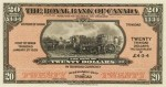 Value of Old Banknotes from The Royal Bank of Canada in Montreal