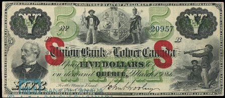 union bank lower canada 1866 5