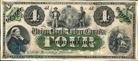 union bank lower canada 1870 4