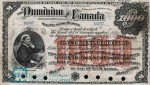 Value of July 2nd 1896 $1,000 Bill from The Dominion of Canada