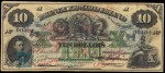 Value of 2nd January 1872 Prince Edward Island $10 Bill