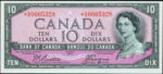 Value of 1954 Devils Face $10 Bill from The Bank of Canada