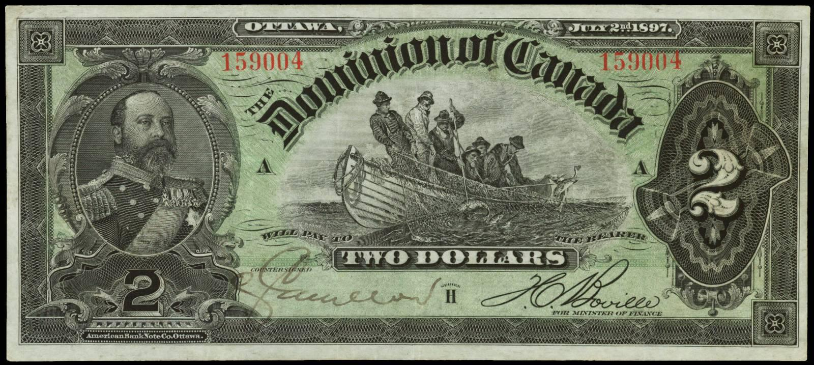 Value Of July 2nd 1897 2 Bill From The
